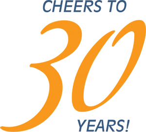 Cheers to 30 years
