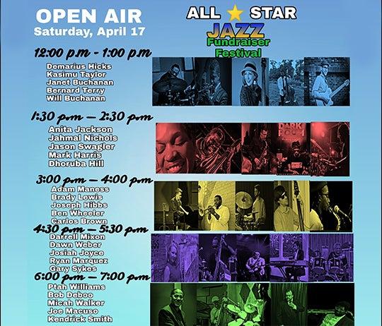 More Info for ALL-STAR JAZZ FUNDRAISER FESTIVAL