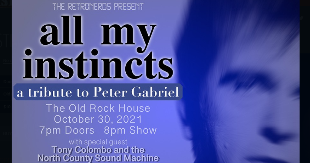 ALL MY INSTINCTS - A TRIBUTE TO PETER GABRIEL