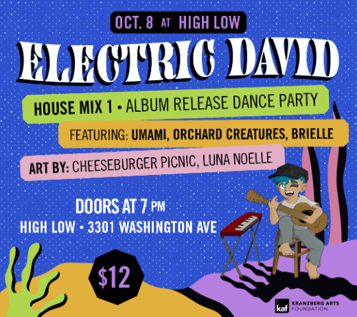 More Info for ELECTRIC DAVID HOUSE MIX 01 ALBUM RELEASE