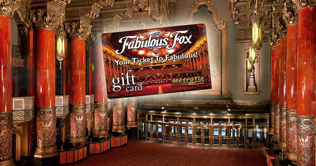 Fox Theatre Gift Card