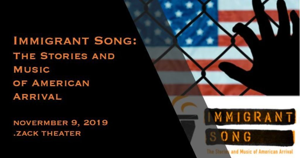 Immigrant Song: The Stories and Music of American Arrival