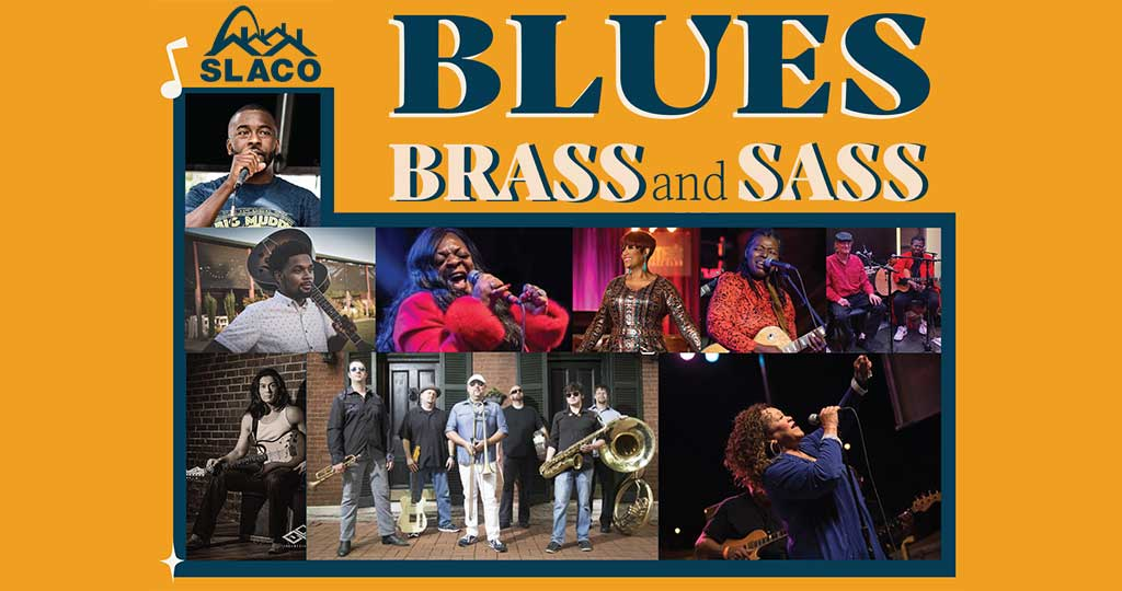 BLUES, BRASS, AND SASS