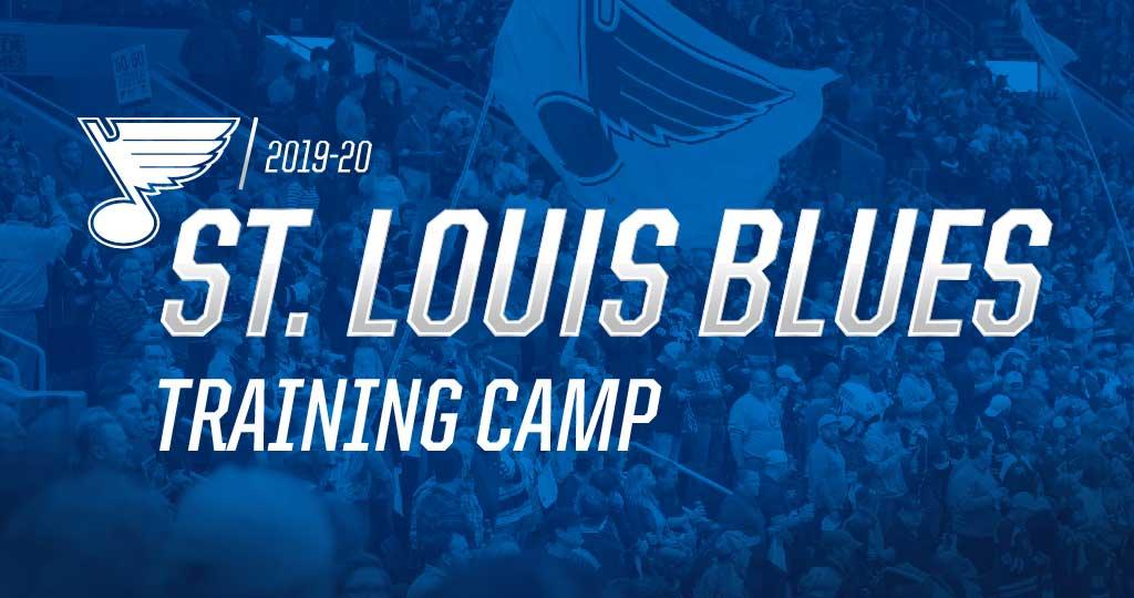 St. Louis Blues Training Camp