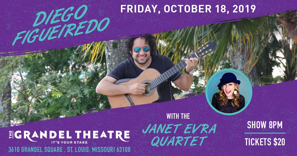 Diego Figueiredo with the Janet Evra Quartet