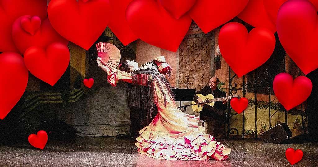 Valentine's a la Flamenca: ¡Solo Flamenco!