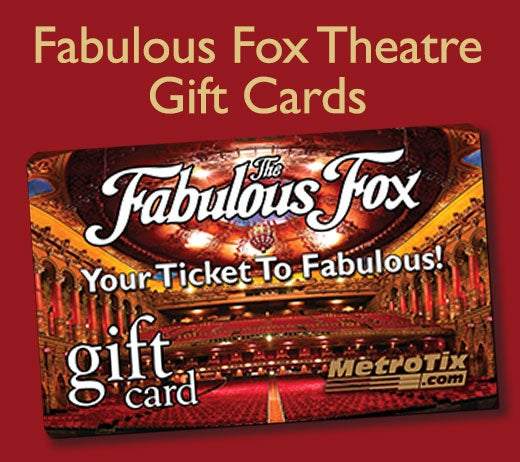 More Info for Fox Theatre Gift Card