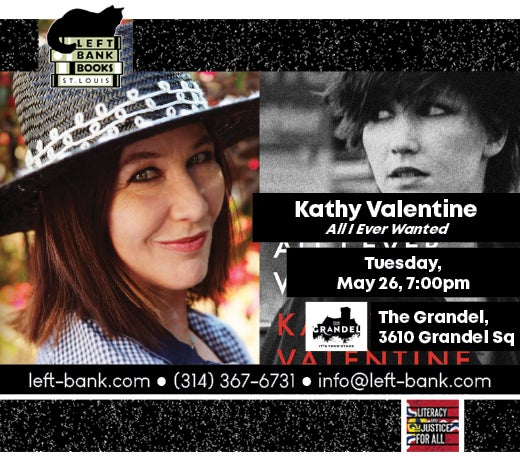 More Info for KATHY VALENTINE (CANCELLED)