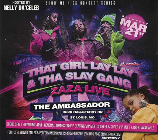 More Info for THAT GIRL LAYLAY and ZAZA (RESCHEDULED)