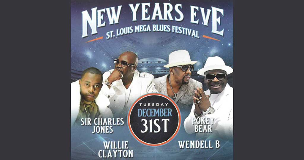 New Year's Eve St. Louis Mega Blues Festival
