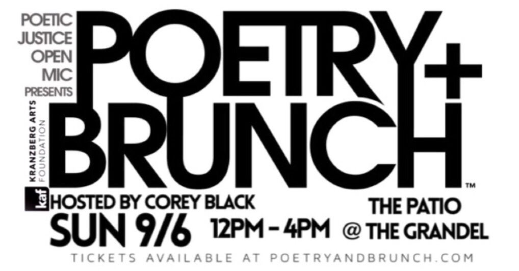 POETIC JUSTICE: POETRY + BRUNCH (CANCELLED)
