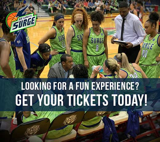 More Info for St. Louis Surge - Women's Basketball